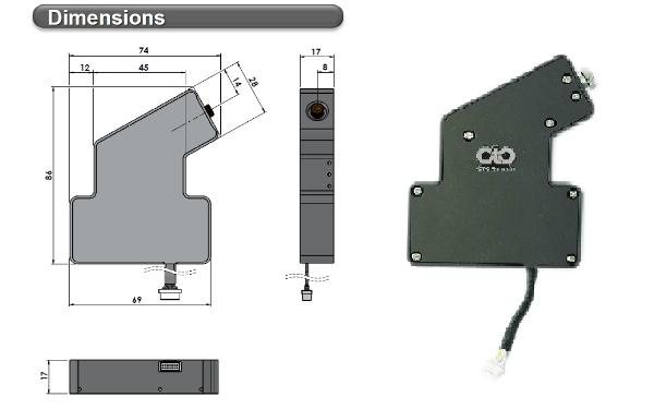 dimensioni spettrometri MS1200-MS2200