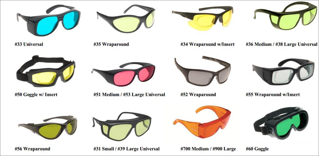 occhiali di protezione noir