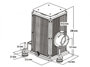 sorgente luce alogena tungsteno 150W-250W