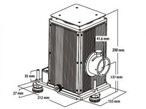 sorgente luce xenon 150W