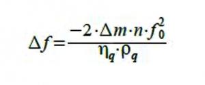 formula Saurbrey