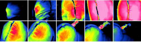 termografia elevata velocita